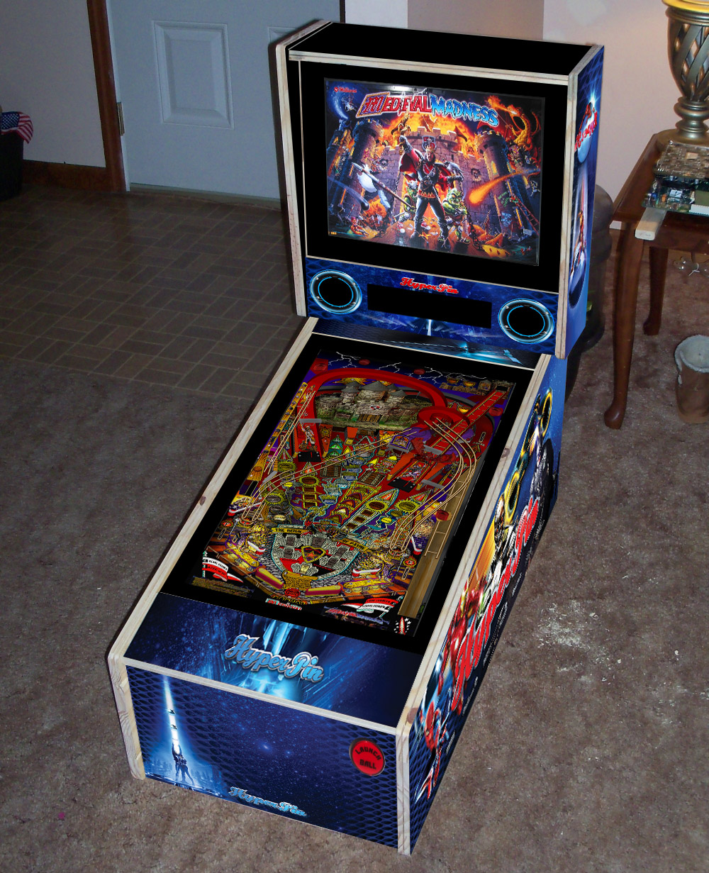 Completed Tredog S Mini Pin Arcade Cabinet Virtual